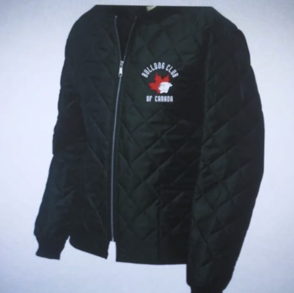 Freezer jacket with logo